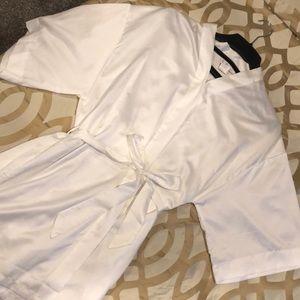 BRIDE 💍 White Robe!